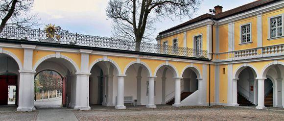 Der Klosterhof Neuzelle