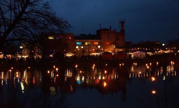 Klosterbrauerei beim Weihnachtsmarkt
