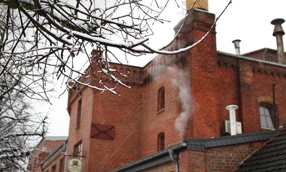 Die Klosterbrauerei im Winter