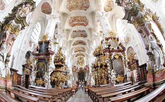 Im Kloster Neuzelle