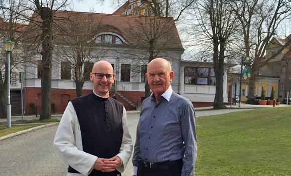 Pater Kilian zu Besuch