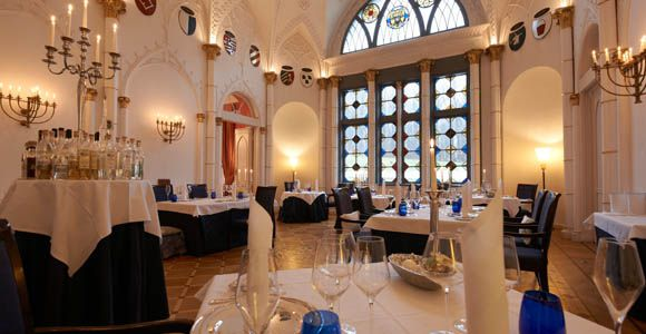 Im Schlosshotel Burg Schlitz