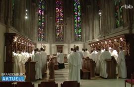 Mönche des Stift Heiligenkreuz beten für Wiederbesiedlung