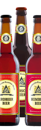 Kirsch, Erdbeer, Himbeer Bier